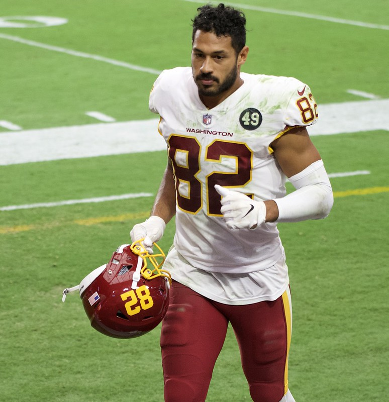 NFL Washington Football Team tight end Logan Thomas