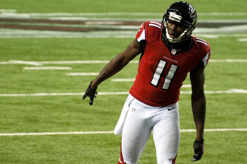 NFL Atlanta Falcons wide receiver Julio Jones