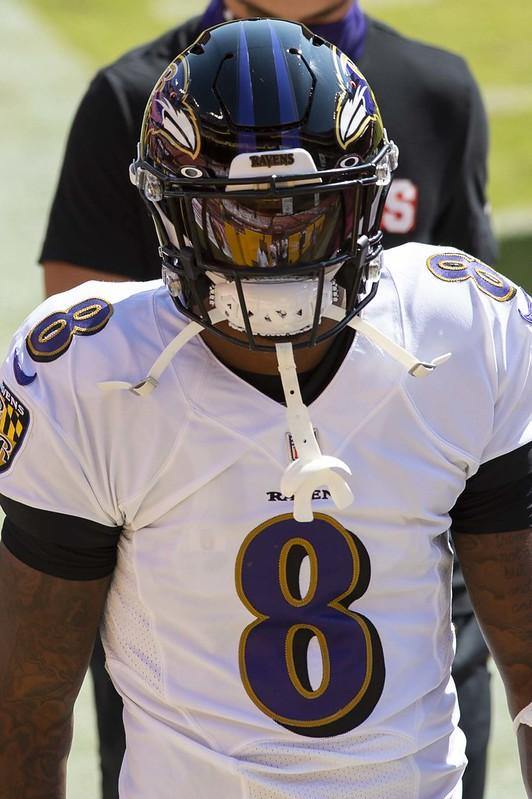 NFL Baltimore Ravens quarterback Lamar Jackson