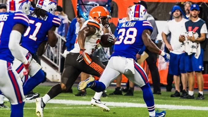 NFL Cleveland Browns running back Nick Chubb