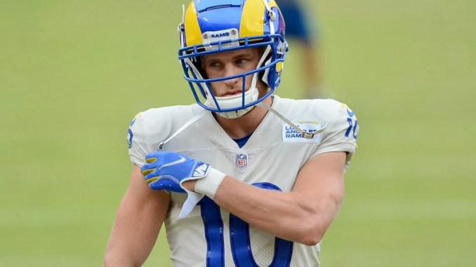 NFL Los Angeles Rams wide receiver Cooper Kupp
