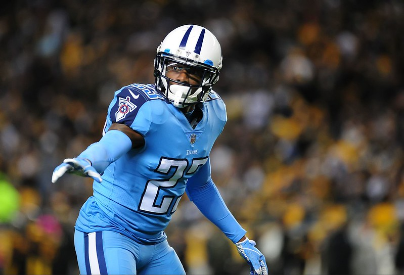 NFL Tennessee Titans cornerback Tye Smith