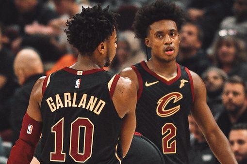 NBA Cleveland Cavaliers Sexland Darius Garland and Collin Sexton
