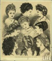 1870s late victorian ladies