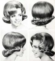 1960s hair and makeup ladies