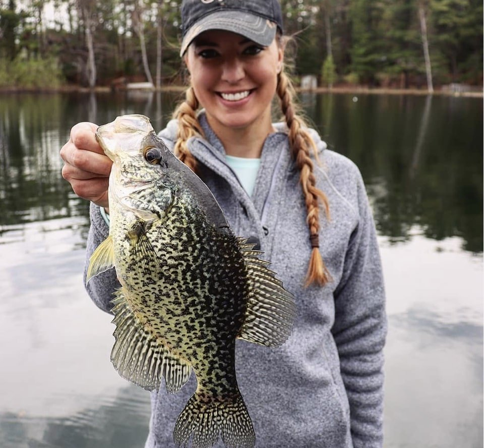 Catch more trophy crappie with Krysten Potega