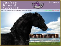 E-RH-Friesian-ChelseaManeForelockSet