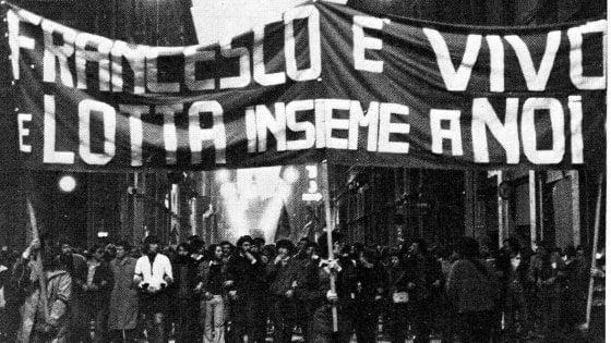 Manifestazione per Lorusso, 16 marzo 1977