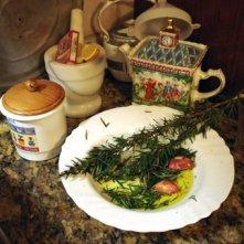 Olio, aglio e rosmarino, in casa di Ida Bartolucci, 2008