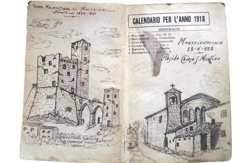 La rocca di Montelevecchie e la chiesa di San Martino, Giovanni Gabucci