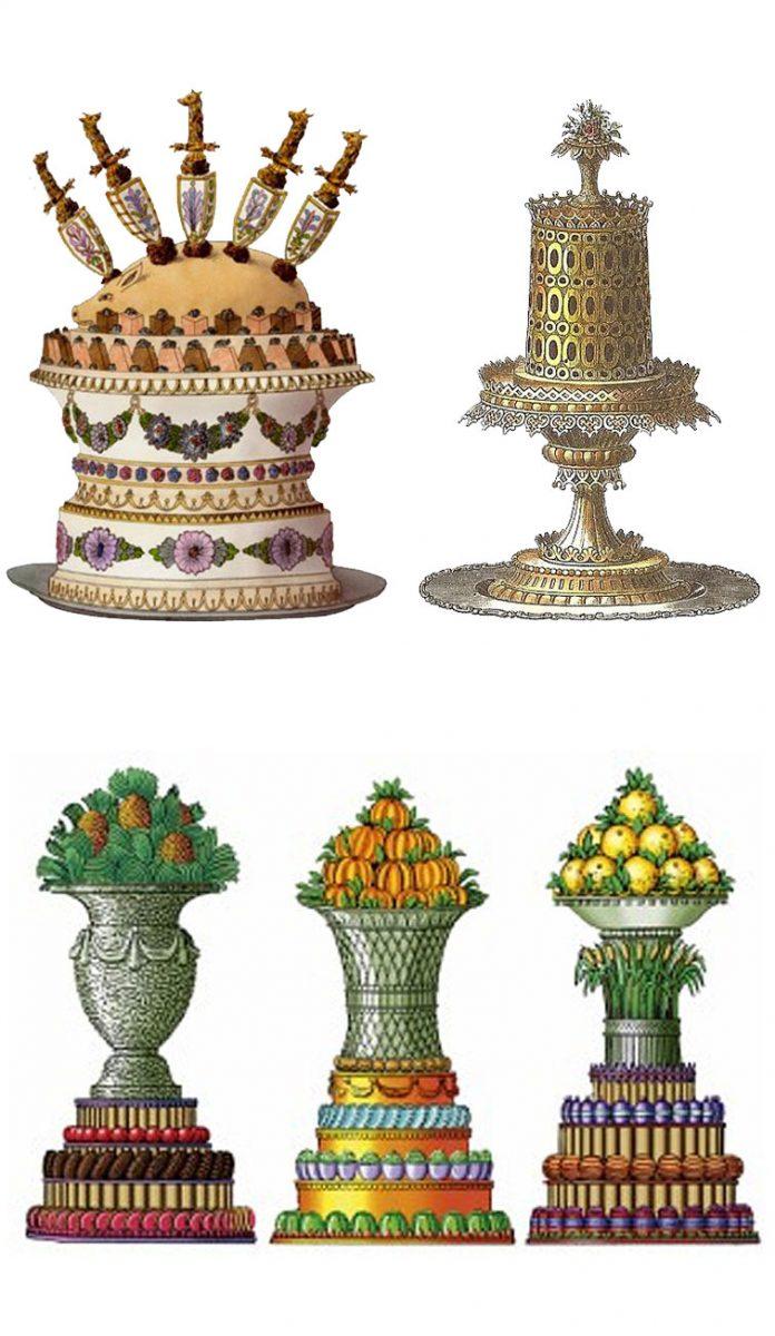 Desserts - Antonin Careme