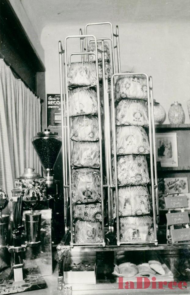 Pesaro, anni '50 - il Bar Gino