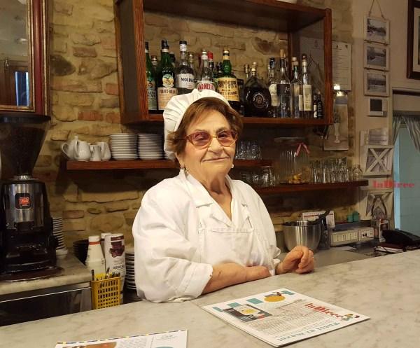 Maria Mencarelli - Trattoria Il Pergolato, Novilara