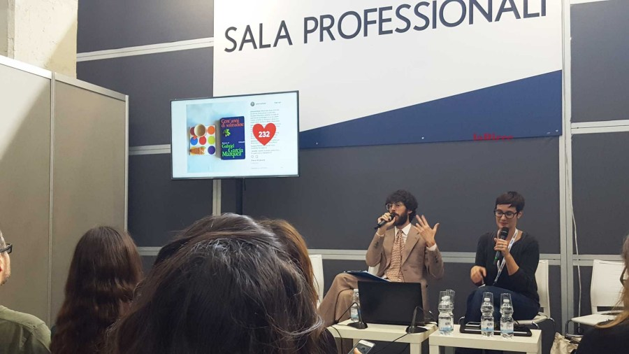 Salone del Libro 2018 - Petunia Ollister e Federico Sacchi