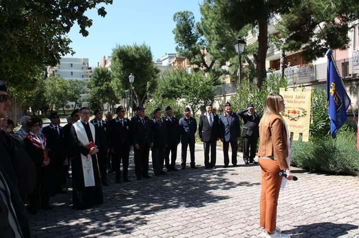 Parco Nassiriya: avvicendamento del direttivo dell'Associazione Carabinieri