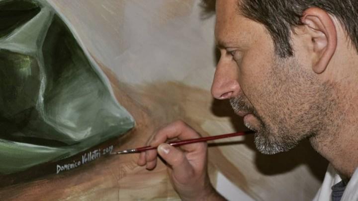 Nuova opera d'arte di Domenico Velletri a Bisceglie