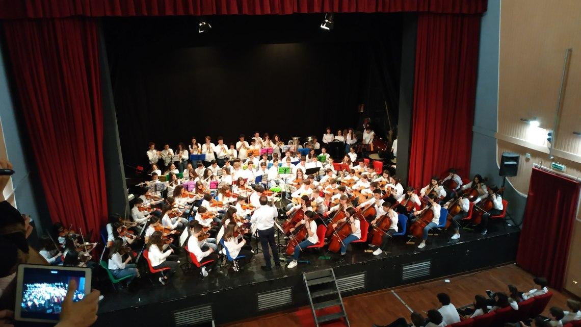 Primo premio assoluto per l'Orchestra Monterisi al Concorso Nazionale di Orsogna