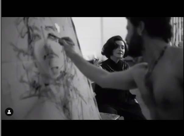 Tony Cassanelli, un artista biscegliese con Madonna
