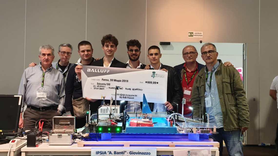 """Terzo posto per il docente biscegliese Parisi al progetto""""Welcome to automation"""""""