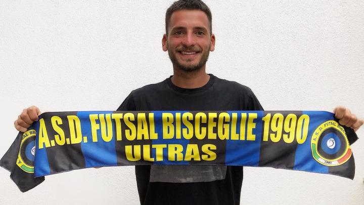 """Futsal, Carlo Angiulli veste di nerazzurro: """"Darò tutto me stesso per questa maglia"""""""