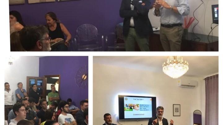 Il comitato Flat Tax Puglia si riunisce a Bari per sensibilizzare la cittadinanza sul tema della Tassa piatta