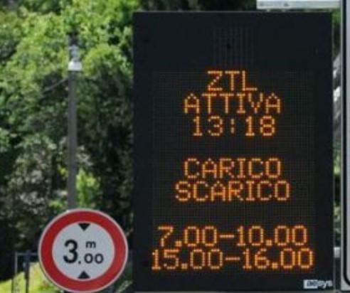 """Ztl, anche a Bisceglie diventa illegittima la scritta """"varco attivo"""""""