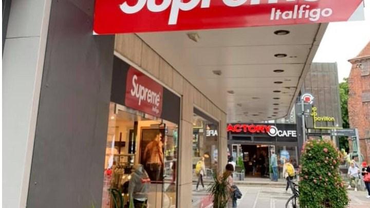 Supreme, marchio legit-fake dalla Germania per mano di un biscegliese