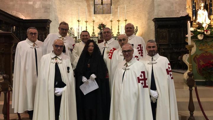 """L'Ordine del Santo Sepolcro di Gerusalemme in pellegrinaggio alle """"pietre vive"""""""
