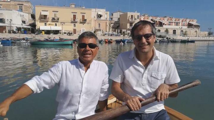 Il video del Sindaco Angarano:  una raccolta fondi per restaurare l'argano distrutto al porto