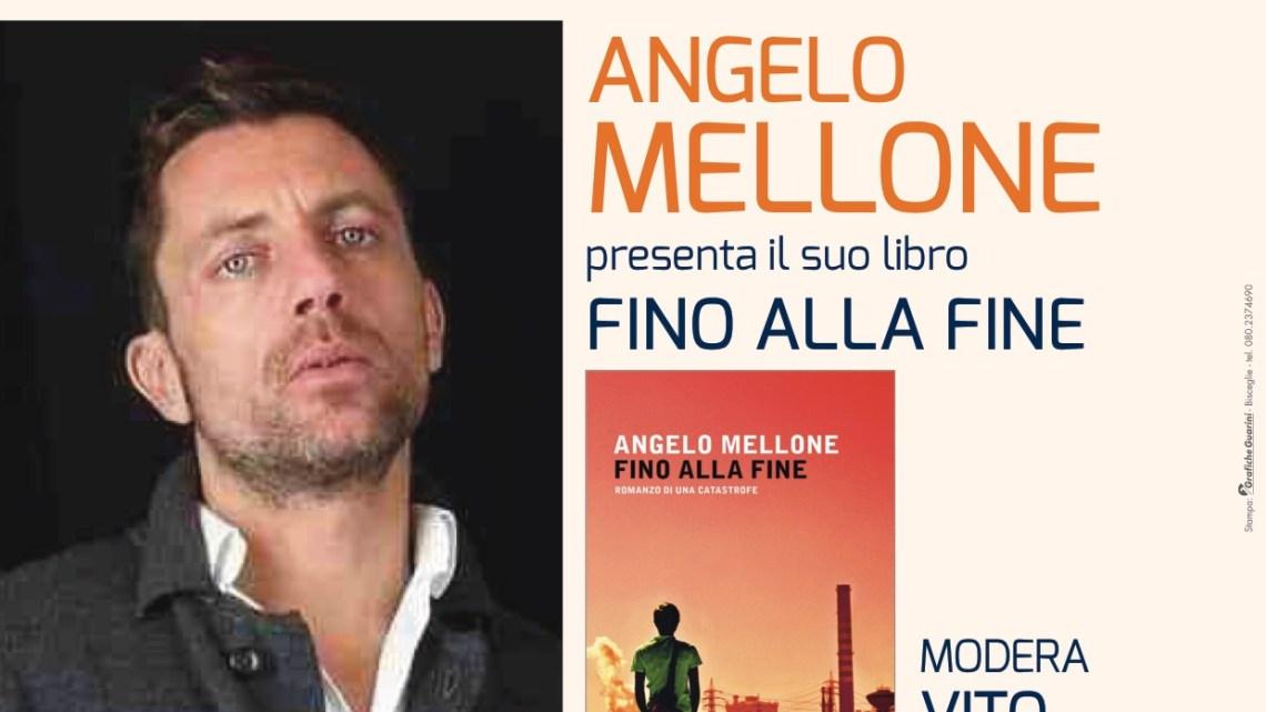 """Angelo Mellone a Bisceglie per AutunnoLibri19 con """"Fino alla fine"""""""