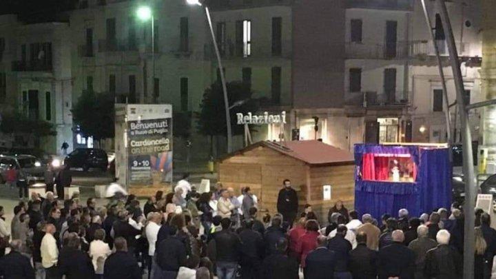 Teatro di Pulcinella derubato a Ruvo riprende gli spettacoli. Raccolti i fondi da semplici cittadini