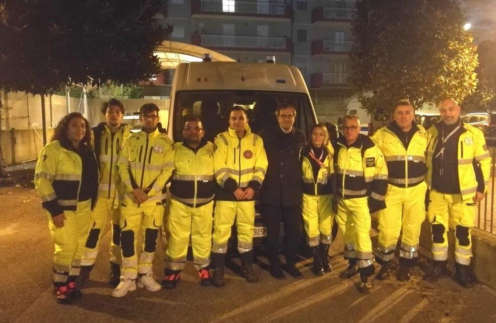 Terremoto Albania, cinque uomini Oer di Bisceglie partiti in soccorso