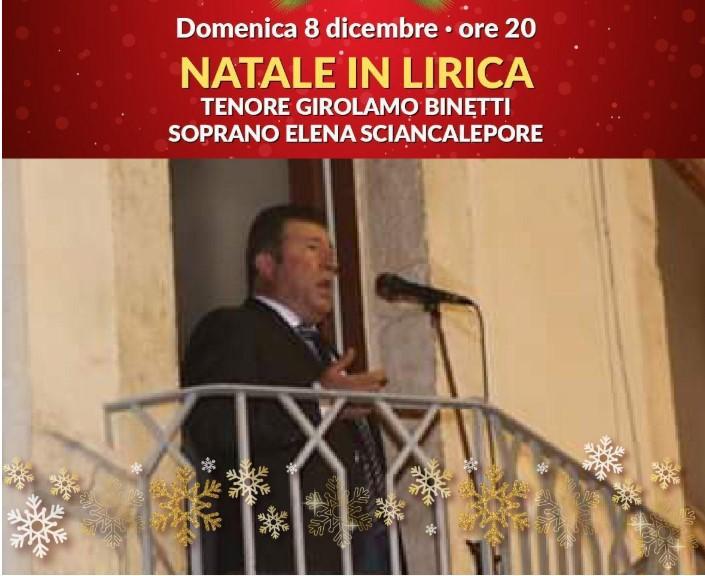 Natale nel Borgo Antico: è il giorno della lirica