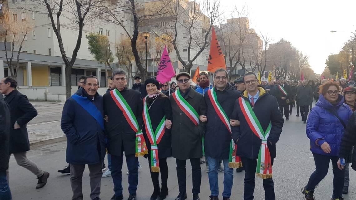 Il Sindaco Angarano in trasferta a Foggia per dire no alle mafie