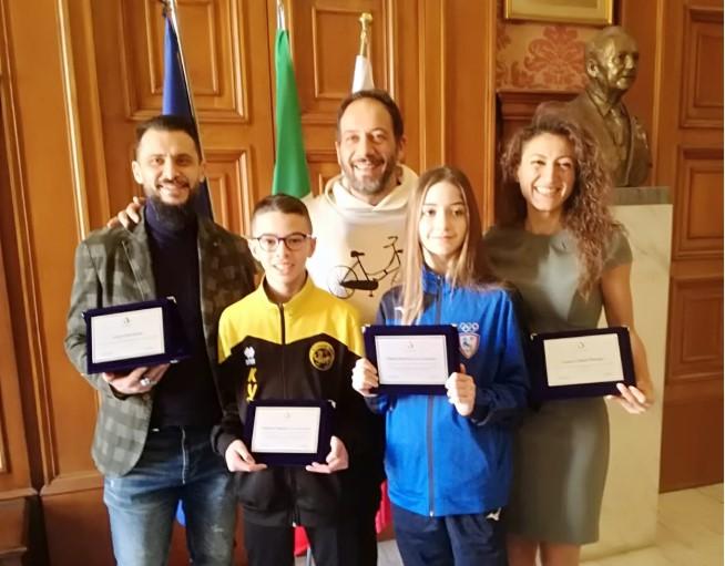 Trofeo Kinder Sport di Karate, prestigioso premio per Papagni