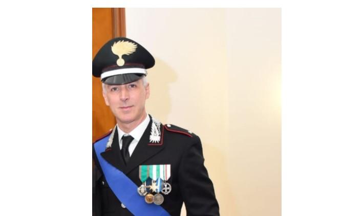 Il benvenuto del Sindaco Angarano al neo Comandante dei Carabinieri di Bisceglie