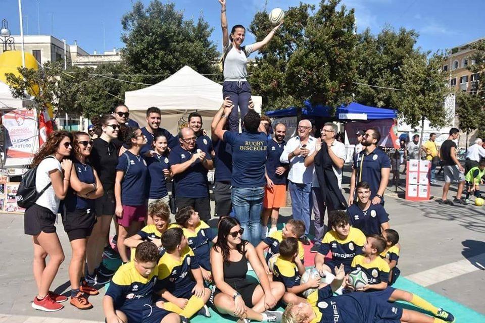 Dimissioni Vittoria Sasso, i ringraziamenti di ASD Bisceglie Rugby all'assessore