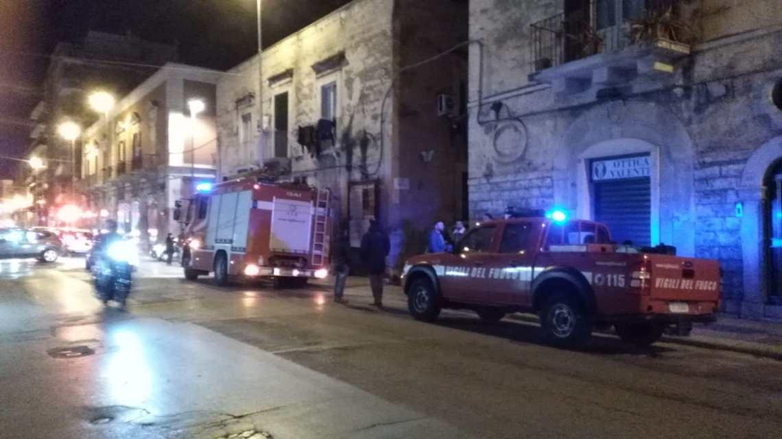 Sospetta fuga di gas, intervengono i Vigili del Fuoco in via Imbriani