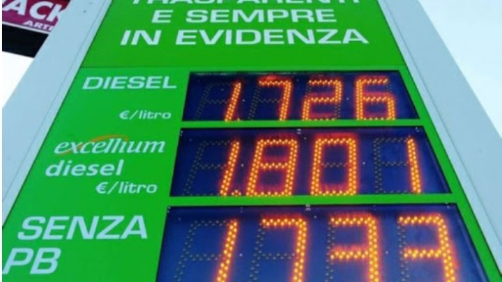 Mancata comunicazione prezzi carburanti, multe a tre impianti di distribuzione