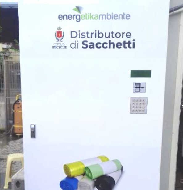 Assessore Consiglio: arrivano in città i distributori automatici dei sacchetti per rifiuti