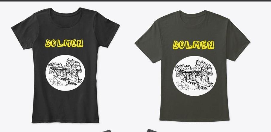 """Da Fabrizio De Feudis l'idea di realizzare le magliette """"Dolmen Bisceglie"""""""
