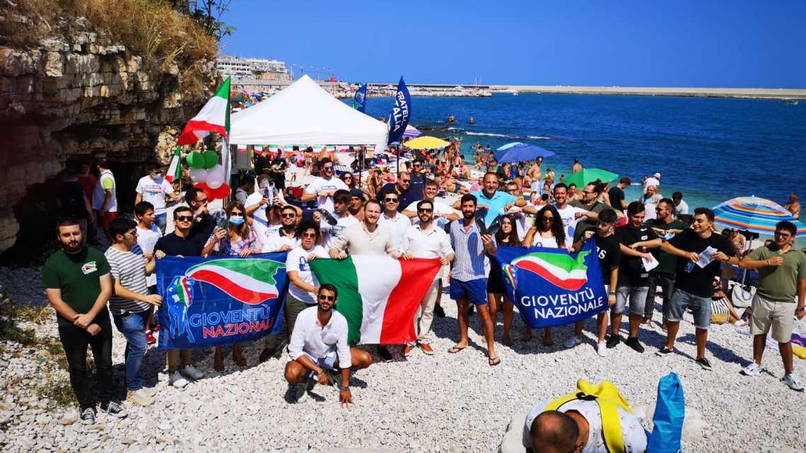 Un agosto da patrioti per Fratelli d'Italia a Bisceglie