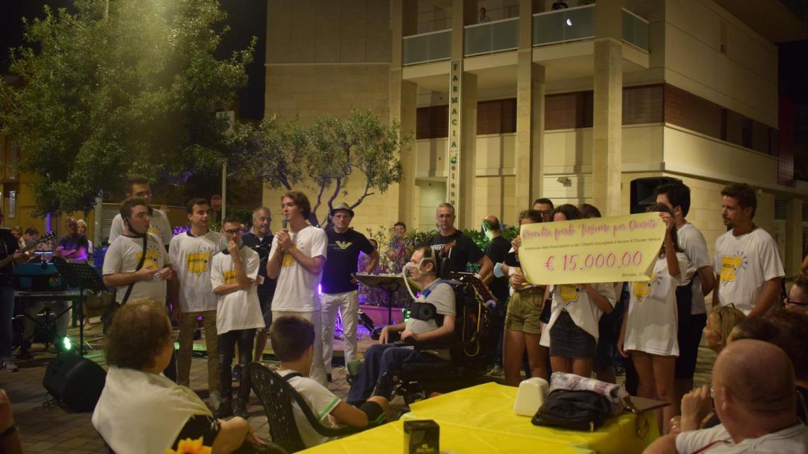 Bisceglie Illuminata: 15mila euro raccolti per Donato