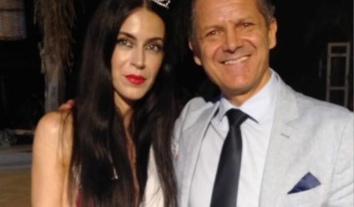 L'attore biscegliese Nicola Losapio premia la nuova Miss Fashion Show