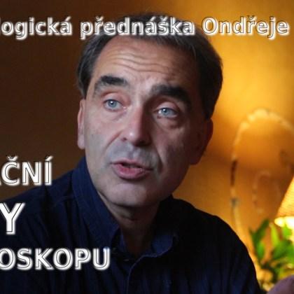 Přednáška astrologa Ondřeje Habra: Iniciační body v horoskopu