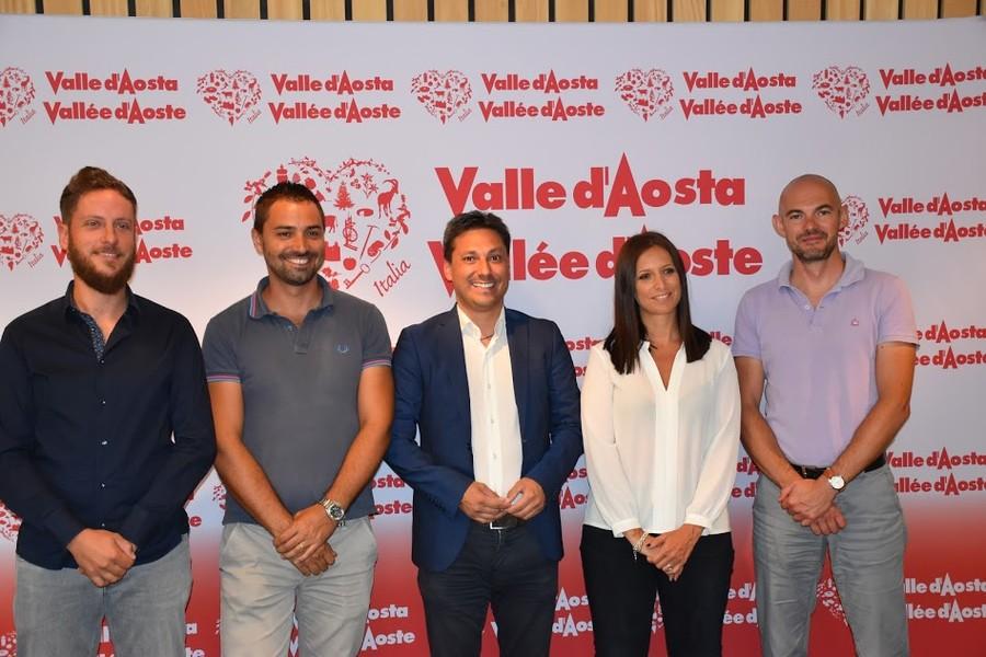 Da sinistra: Vincent Boniface, Simone Bottasso, Laurent Vierin, Emiky Rini e Ronny Borbey