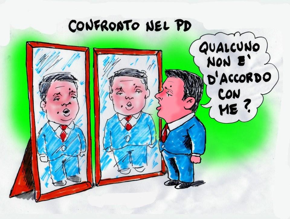 """""""Confronto nel Pd"""""""