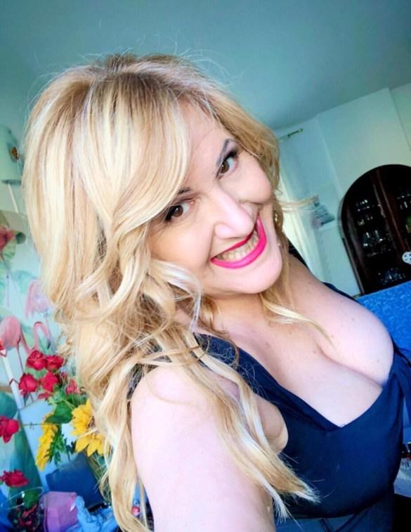 La modella curvy Laura Tagliaferro