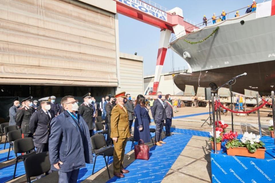 Cantiere Navale Vittoria, consegnata l'ammiraglia da 75 metri destinata alle Forze Armate maltesi