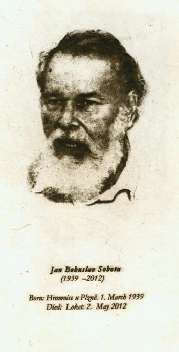 Remembering Jan Bohuslav Sobota By Ladislav R Haňka Jan
